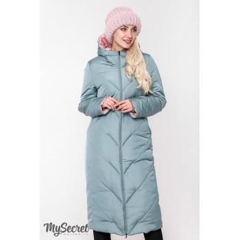 Пальто зимнее двухстороннее для беременных Viсtoria 1556