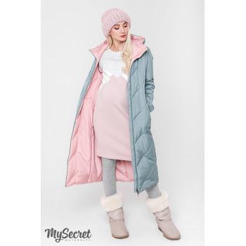 Пальто зимнее двухстороннее для беременных Viсtoria 1557