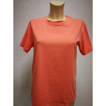 Футболка для беременных Victoria однотонно оранжевая 0429